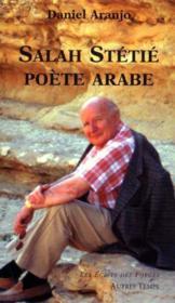 Salah Stetie Poete Arabe - Couverture - Format classique