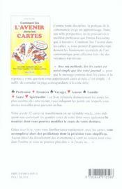 Comment Lire L'Avenir Dans Les Cartes - 4ème de couverture - Format classique