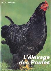 Elevage Des Poules - Intérieur - Format classique