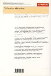 Le Birobidjan (1928-1996) ; L'Histoire Oubliée De L'Etat Juif Fondé Par Staline - 4ème de couverture - Format classique