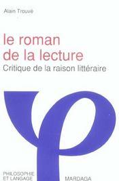 Roman De La Lecture - Intérieur - Format classique