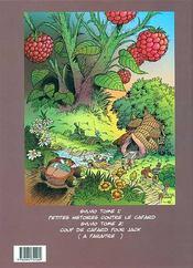 Sylvio t.1 ; petites histoires contre le cafard - 4ème de couverture - Format classique