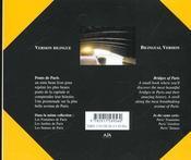 Pont De Paris - 4ème de couverture - Format classique