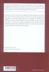 Electromagnetisme Fiches Methodes Et Problemes Corriges 2e Annee Pc-Psi - 4ème de couverture - Format classique