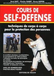 Cours De Self-Defense - Couverture - Format classique