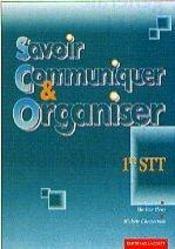 Savoir Communiquer Et Organiser - Intérieur - Format classique