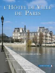 L'Hotel De Ville De Paris - Couverture - Format classique