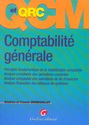 Qcm-Qcr. Comptabilite Generale, 2eme Edition - Intérieur - Format classique