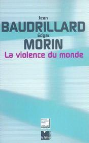 La Violence Du Monde - Intérieur - Format classique