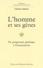 L'Homme Et Ses Genes - Intérieur - Format classique