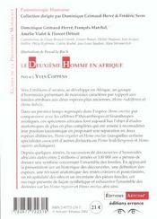 Le deuxieme homme en afrique - 4ème de couverture - Format classique