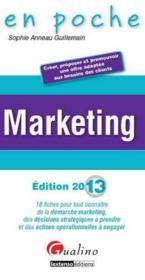 Marketing (édition 2013) - Couverture - Format classique