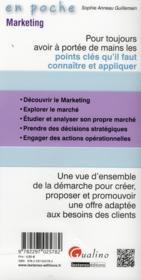 Marketing (édition 2013) - 4ème de couverture - Format classique