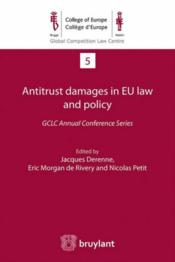 Vente livre :  Antitrust damages in EU law and policy  - Collectif
