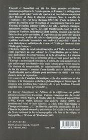 Visconti, le sens et l'image - 4ème de couverture - Format classique