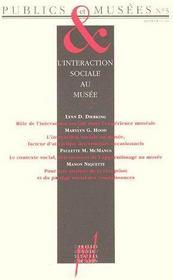 Publics & musées t.5 ; l'interaction sociale au musée - Couverture - Format classique