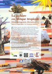 Jachere En Afrique Tropicale - 4ème de couverture - Format classique