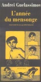 L'Annee Du Mensonge - Couverture - Format classique