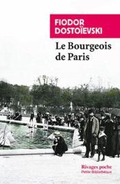 Le bourgeois de paris - Couverture - Format classique