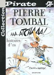Pierre Tombal Pirate T.2; Histoire D'Os - Intérieur - Format classique
