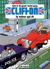 Clifton t.2 ; le voleur qui rit - Couverture - Format classique