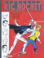 Ric Hochet ; intégrale t.3 - Intérieur - Format classique
