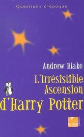 L'irresistible ascension de harry potter - Intérieur - Format classique