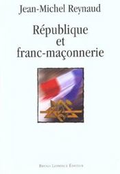République et franc-maçonnerie - Intérieur - Format classique