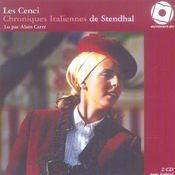 Les Cenci ; chroniques italiennes - Intérieur - Format classique