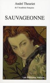 Sauvageonne - Couverture - Format classique