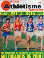 Athletisme Magazine N°63 du 01/04/1975 - Couverture - Format classique