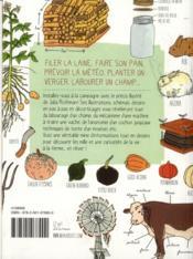Le guide Marabout illustré de la vie à la ferme - 4ème de couverture - Format classique