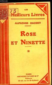 Rose Et Ninette - Moeurs Du Jour - Tome 2 - Couverture - Format classique