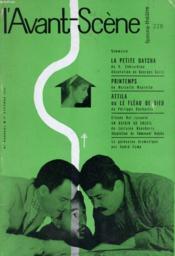 L'AVANT-SCENE - FEMINA-THEATRE N° 228 - LA PETITE DATCHA de V. CHKVARKINE - Couverture - Format classique