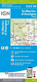 Vente livre :  St-Martin d'Auxigny ; Foecy  - Collectif Ign
