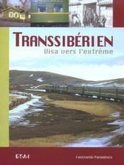 Transsiberien, Visa Vers L'Extreme - Intérieur - Format classique