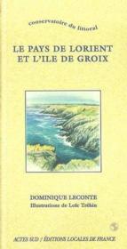 Conservatoire du littoral - pays de lorient et l'ile de groix - Couverture - Format classique