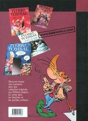 Pierre Tombal Pirate T.3; Mort Aux Dents - 4ème de couverture - Format classique
