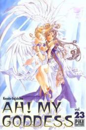 Ah! my goddess t.23 - Couverture - Format classique