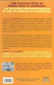Univers De La Possibilite - 4ème de couverture - Format classique