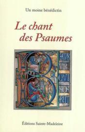 Le Chant Des Psaumes - Couverture - Format classique
