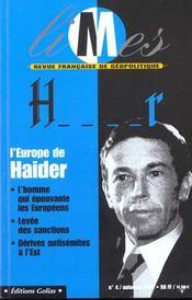 L'Europe Contre Haider - Intérieur - Format classique