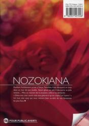 Nozokiana t.1 - 4ème de couverture - Format classique