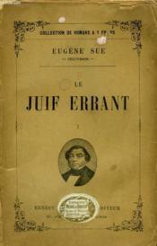 Le Juif Errant. Tome 1. - Couverture - Format classique