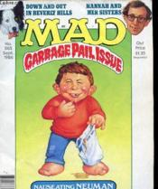 Mad N°265 - Garbage Pail Issue - Couverture - Format classique