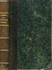Tendre Folie. - Couverture - Format classique
