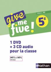 Vente livre :  Give me five ! ; anglais ; 5e (édition 2017)  - M Brusson - H Hadrian - Collectif - Michel Brusson - Helene Adrian