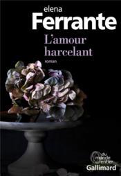 L'Amour Harcelant - Couverture - Format classique