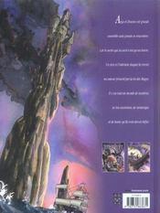 Le jour des magiciens t.2 ; drazen - 4ème de couverture - Format classique