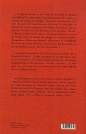 Cache-cache vinaigre - 4ème de couverture - Format classique